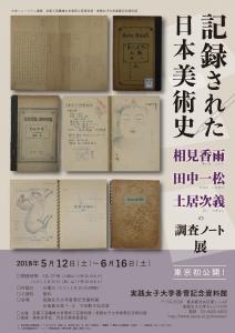 記録された日本美術史 相見香雨・田中一松・土居次義の調査ノート展-1