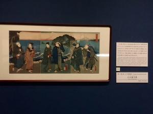 浮世絵で春の江の島詣-8
