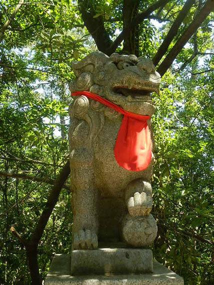 安宅住吉神社_狛犬