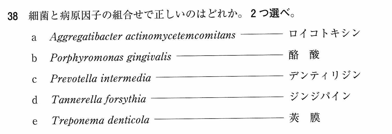 111b38細菌 病原因子