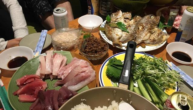 手抜き寿司20180519