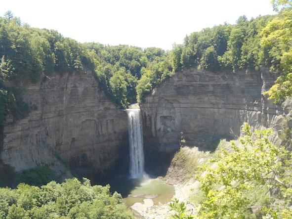 Taughannock Falls (summer)のコピー