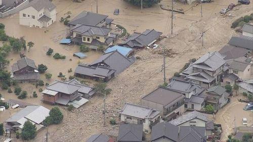 西日本を中心とした記録的豪雨