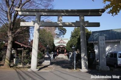 勝利八幡神社(世田谷区桜上水)30
