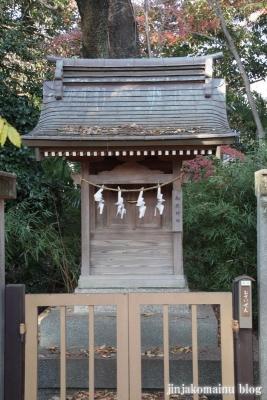 尾崎熊野神社(世田谷区成田西)10