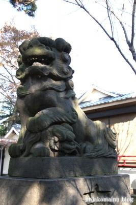 尾崎熊野神社(世田谷区成田西)12