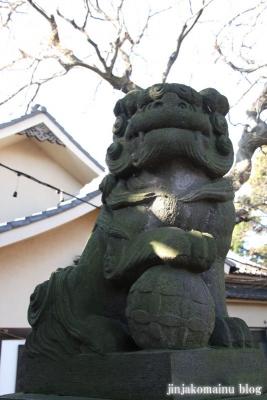 尾崎熊野神社(世田谷区成田西)16