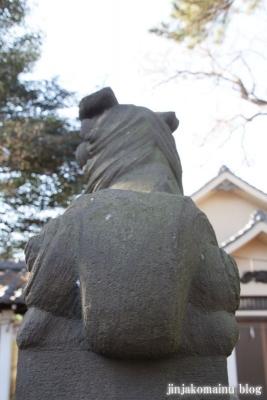尾崎熊野神社(世田谷区成田西)14