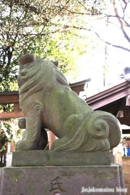 尾崎熊野神社(世田谷区成田西)17
