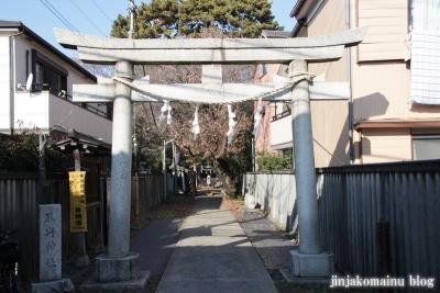尾崎熊野神社(世田谷区成田西)1