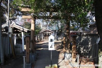 尾崎熊野神社(世田谷区成田西)4
