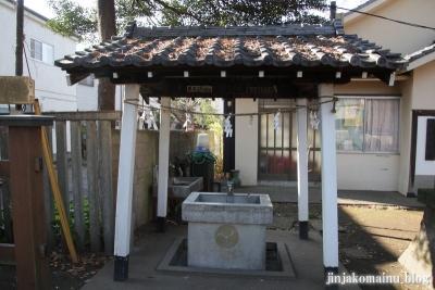 尾崎熊野神社(世田谷区成田西)5