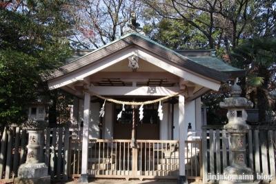尾崎熊野神社(世田谷区成田西)6