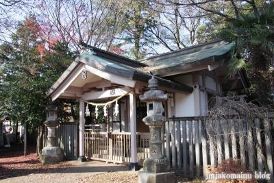 尾崎熊野神社(世田谷区成田西)7
