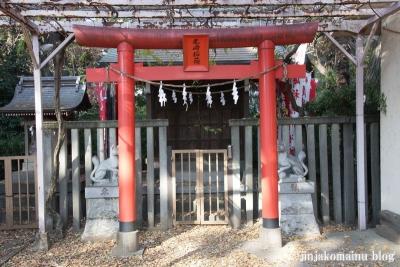 尾崎熊野神社(世田谷区成田西)9