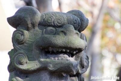 尾崎熊野神社(世田谷区成田西)19