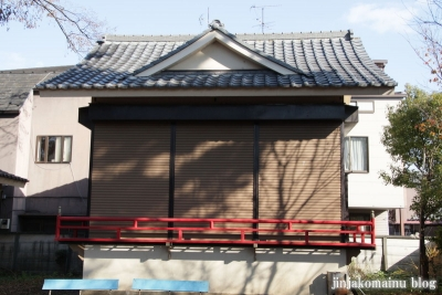 尾崎熊野神社(世田谷区成田西)22
