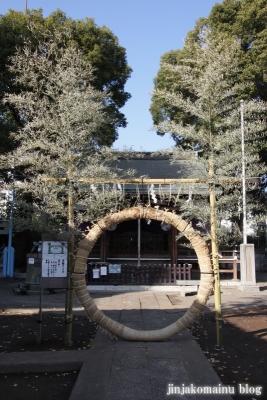 成宗須賀神社(世田谷区成田西)6