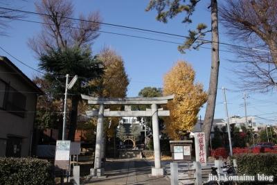 成宗須賀神社(世田谷区成田西)1