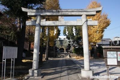 成宗須賀神社(世田谷区成田西)2