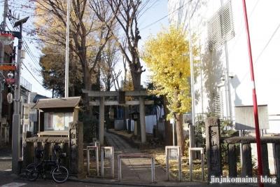荻窪白山神社(杉並区上荻)1