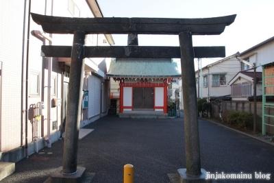 妙法陶首稲荷神社(江東区東砂)1
