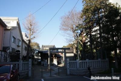 生田神社(江東区東砂)1