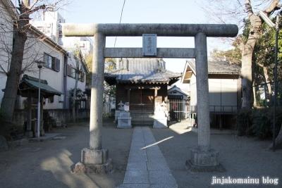 生田神社(江東区東砂)2