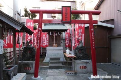 亀森稲荷神社(江東区北砂)2