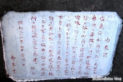 亀森稲荷神社(江東区北砂)8