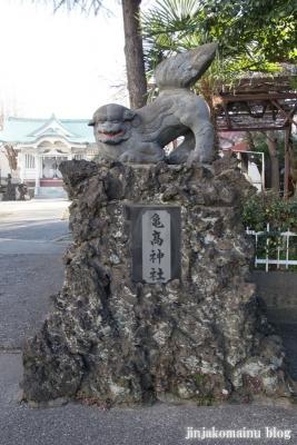 亀高神社(江東区北砂)14