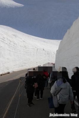 雪の大谷8
