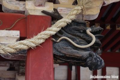 尾崎神社(金沢市丸の内)11