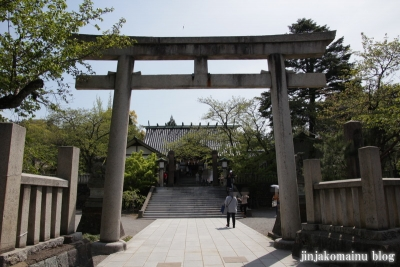 宇多須神社(金沢市東山)1