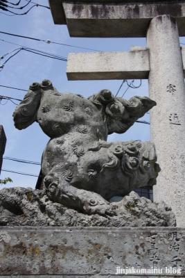 宇多須神社(金沢市東山)5