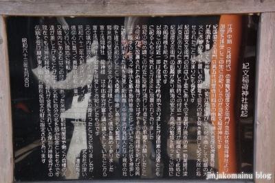 紀文稲荷神社(江東区永代)5