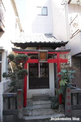 出世稲荷神社(江東区永代)1