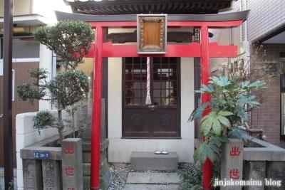 出世稲荷神社(江東区永代)2