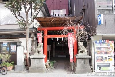 宝珠稲荷神社(中央区銀座)1