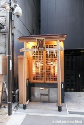 幸稲荷神社(中央区銀座)1