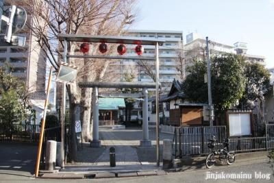 西早稲田天祖神社(新宿区西早稲田)1