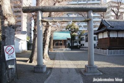西早稲田天祖神社(新宿区西早稲田)3