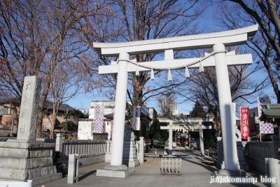 雑司ヶ谷鳳神社(豊島区雑司ヶ谷)1