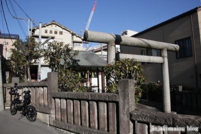 豊坂稲荷神社(新宿区下落合)1