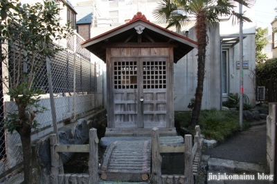 下落合弁財天(新宿区下落合)4