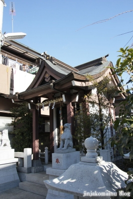 豊島御嶽神社(豊島区千早)10
