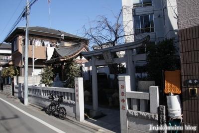 豊島御嶽神社(豊島区千早)1