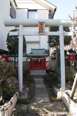 春名神社(豊島区千川)2