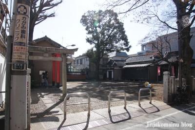 五郎久保稲荷神社(豊島区南長崎)1