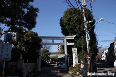 下落合氷川神社(新宿区下落合)1